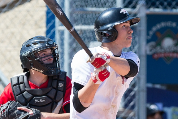 Victoria Eagles grad Tyler Duncan ( Sookie, BC) knocked in  11 runs for the Crowder Roughriders.
