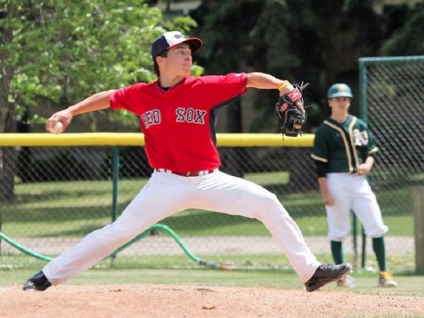 Muenster Red Sox grad Logan Hofmann (Muenster, Sask.) worked in two games for Colby with a win and a save.