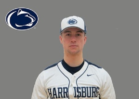 West Toronto Wildcats' Zachary Koroneos (Toronto, Ont.) had three hits and knocked in three runs for the Penn State Harrisburg Lions.