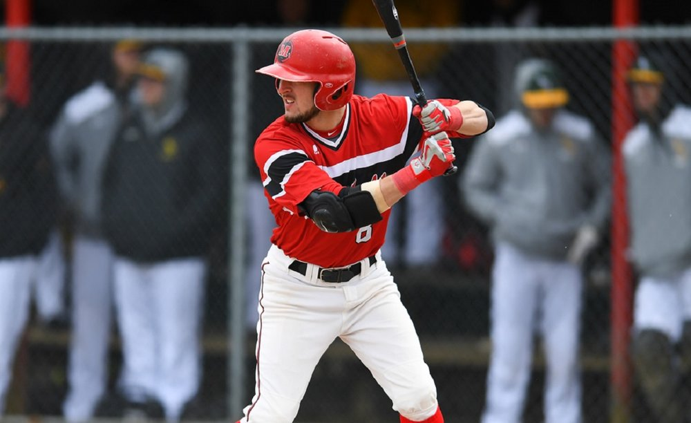 Eric Marriott (Niagara Falls, Ont.) homered against Lesley.