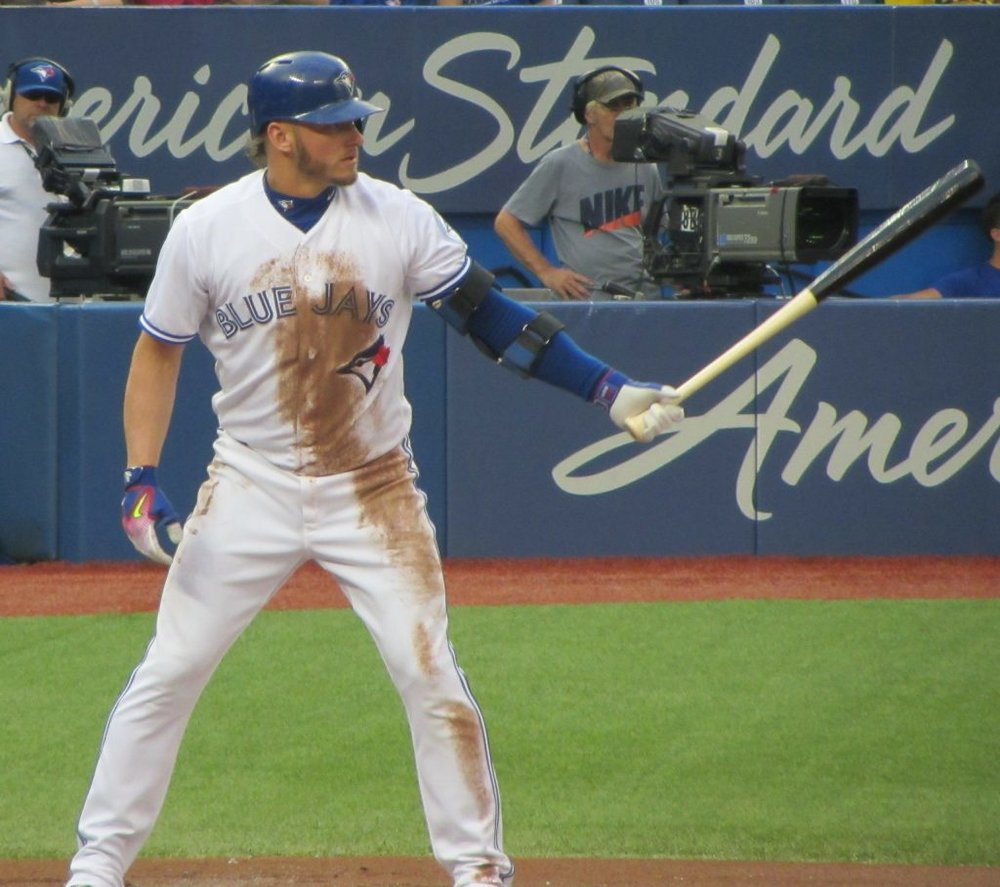 Josh Donaldson returned to the Toronto Blue Jays' lineup for his club's doubleheader against the Cleveland Indians on Thursday. He would homer in both games. Photo Credit: Jay Blue