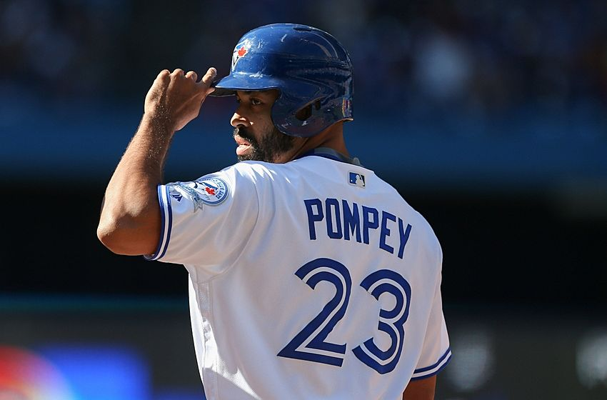 Dalton Pompey (Mississauga, Ont.) was called up by the Toronto Blue Jays on Friday. Photo Credit: Kevin Sousa, USA Today Sports