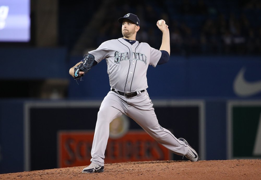 Ladner, B.C., native James Paxton tossed a no-hitter against the Toronto Blue Jays at Rogers Centre on Tuesday night. Photo Credit: Seattle Mariners (@MarinersPR on Twitter)
