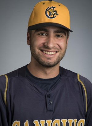 Former Ontario Terrier Jacob Martins (Richmond Hill, Ont.) went 6-for-10 for the Canisius Golden Griffins.