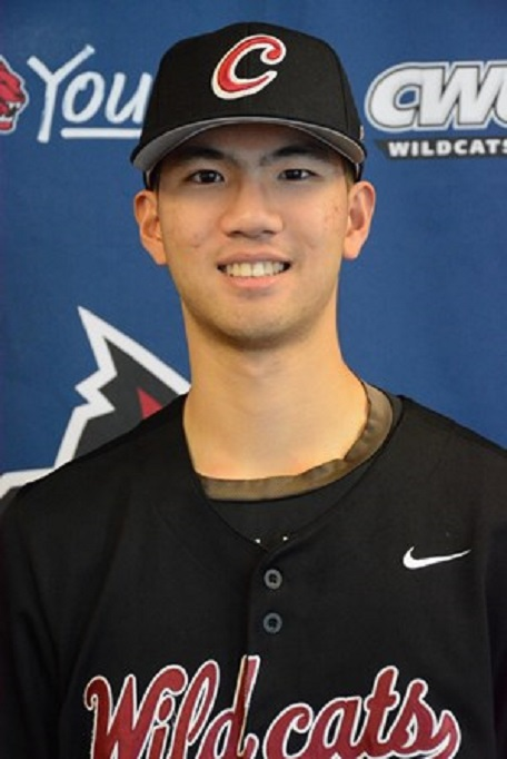 Former Langley Blaza Yi-an Pan (Langley, BC) drove in five runs for the Central Washington Wildcats.