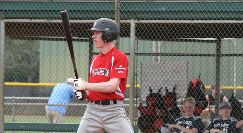 Former Great Lake Canadian Noah Myers (Wyoming, Ont.) had six hits aand knocked in six runs for the Wabash Valley Warriors.