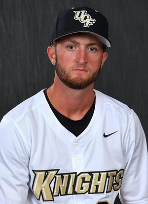 Former Vancouver Cannon Maximillian Wood (West Vancouver, BC) had four hits for the Central Florida Knights.