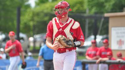 Ontario Terriers alumnus Kyle Blackwell (Waterdown, Ont.) had four hits and drove in three runs for the Cumberland Phoenix.