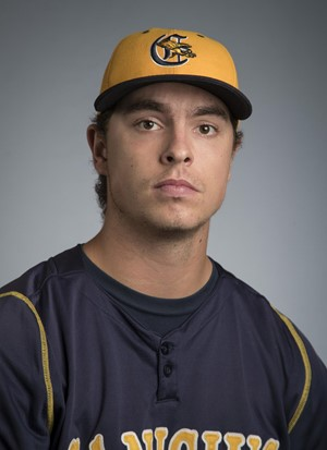 One-time Vauxhall Academy Jet JP Stevenson (New Glasgow, PEI) put up six zeros for the Canisius Golden Griffins.