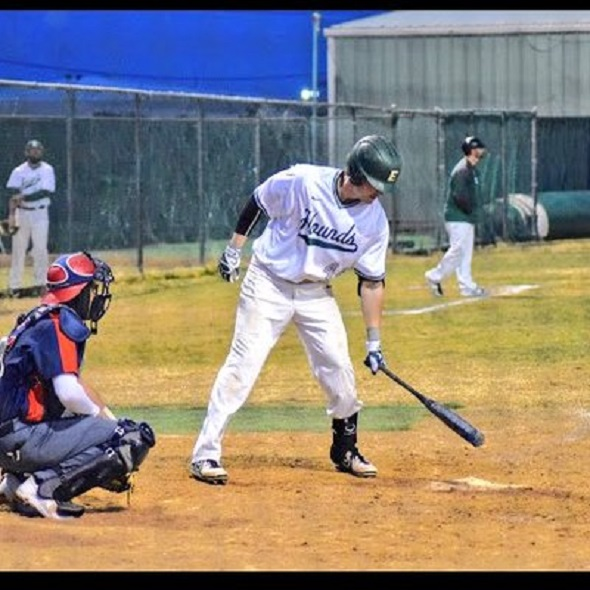 North Delta Blue Jays grad Malcolm Boehm (Ladner, BC) had a pair of  homers for the Eastern New Mexico Greyhounds.
