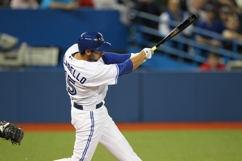 Former Toronto Blue Jay Chris Colabello will play in Italy this season.