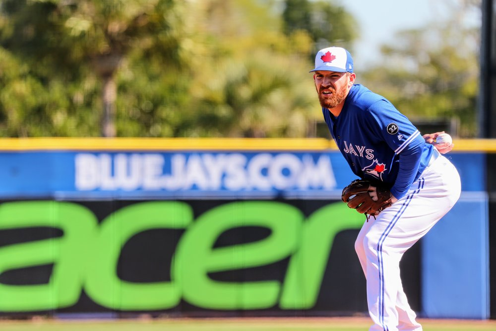 The Toronto Blue Jays have recalled reliever Danny Barnes from triple-A Buffalo. Photo Credit: Amanda Fewer