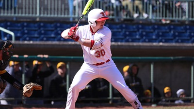 Former Ontario Terrier Drew Dickerson (Port Hope, Ont.) had eight hits, driving in five runs for the Youngstown State Penguins.
