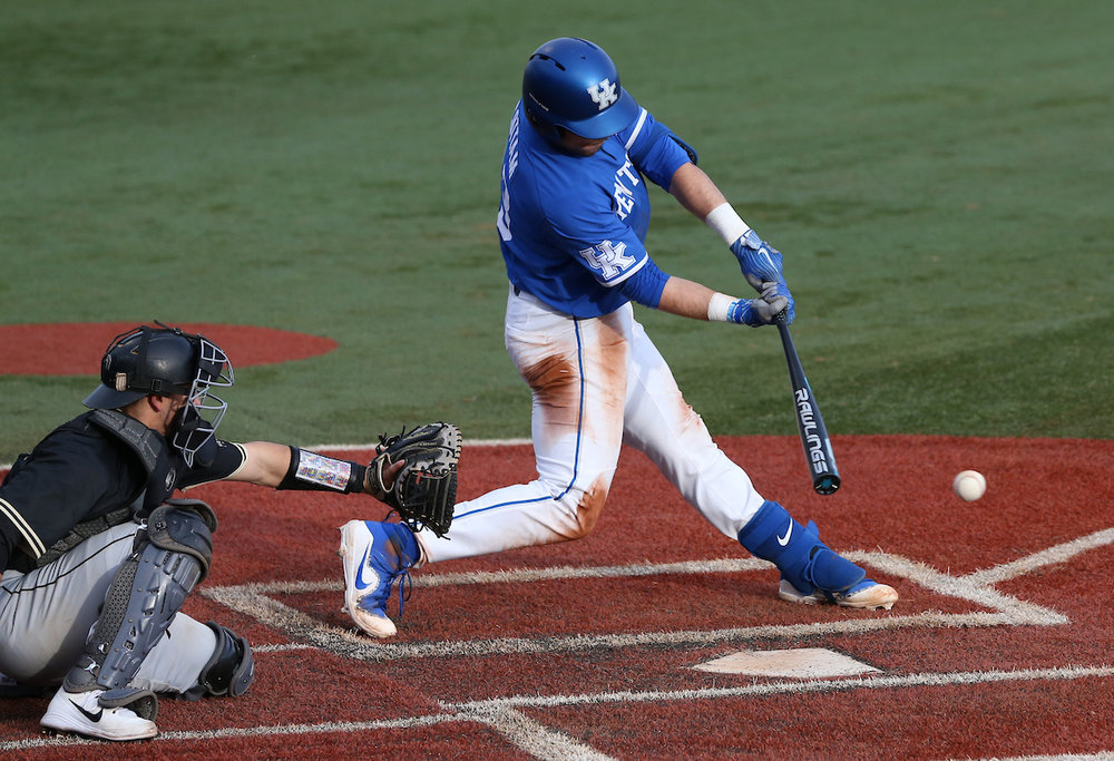 Kole Cottam hit his 18th homer for the Kentucky Wildcats.