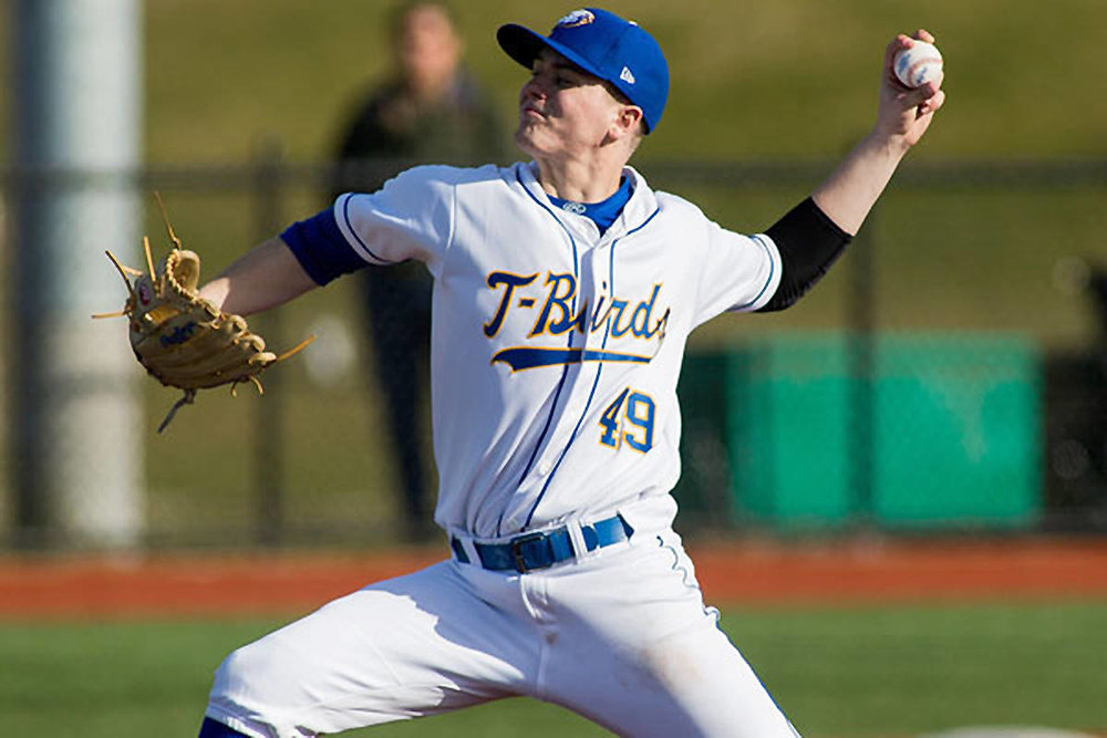 Toronto Mets grad Niall Windeler (Toronto, Ont.) gained UBC's only win beating Middle Georgia State.