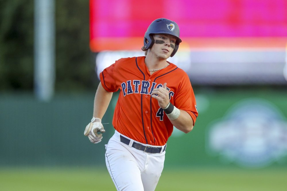 Vauxhall Academy Jets grad Alex Bishop (Calgary, Alta,) led Canuck hitters in homers and RBIs for the Texas-Tyler Patriots.