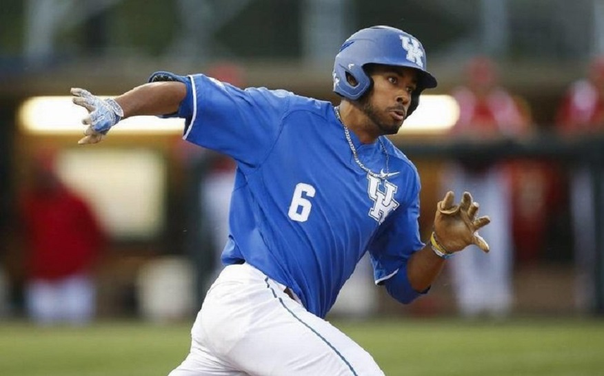 Toronto Mets grad Tristan Pompey (Mississauga, Ont.) hit .411 with seven hits and five RBIs for the Kentucky Wildcats.