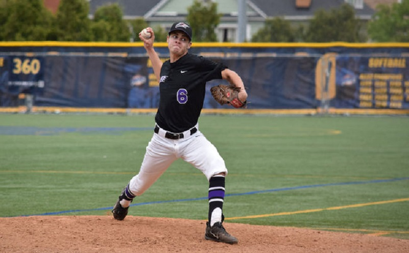 Kingston Thunder grad Matthew Brash (Kingston, Ont.) tossed 8 2/3 innings in a winner-moves-on game for the Niagara Purple Eagles, who return to the Metro Atlantic Athletic Conference tourney since for the first time since 2006.