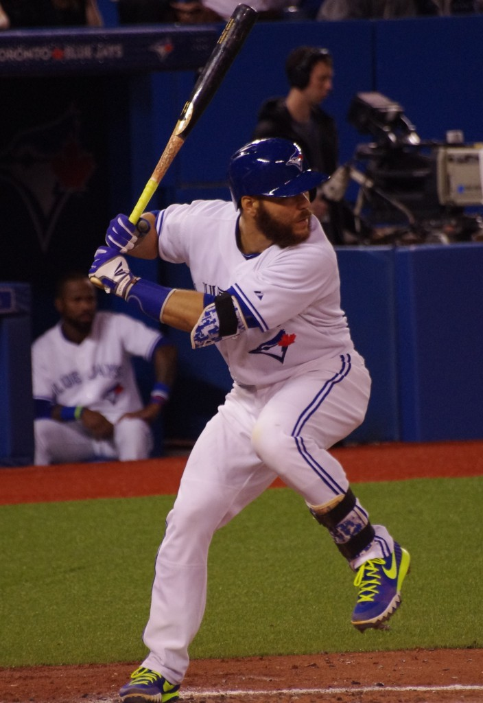 Russell Martin (Montreal, Que.) made his first big league start at shortstop on Saturday against the Philadelphia Phillies. Photo Credit: Jay Blue