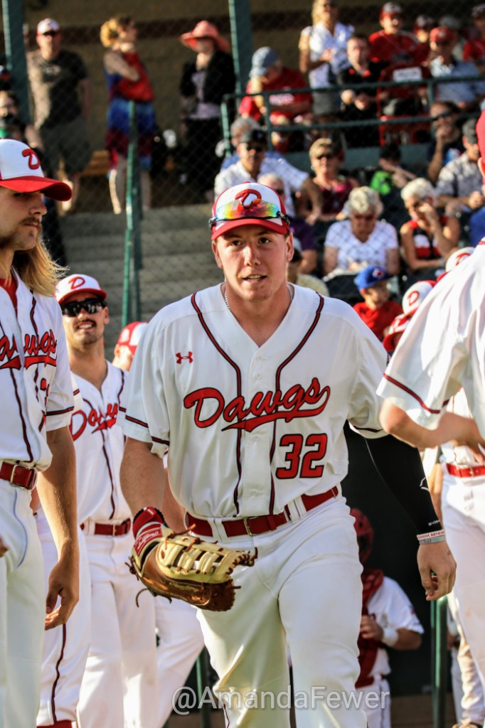 Justin King (Okotoks, Alta.) is back home for the summer with the Okotoks Dawgs. Photo: Amanda Fewer.