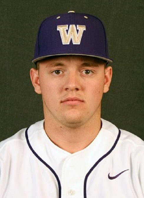 Nanaimo Pirates and Vauxhall Academy Jets  grad Josh Burgmann (Nanaimo, BC) of the Washington Huskies.