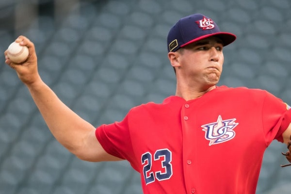 The Toronto Blue Jays selected high school right-hander Adam Kloffenstein with their third-round pick in the 2018 MLB Draft.