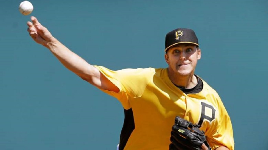 RHP Jameson Taillon, whose mom is from Toronto and his father is from the Cornwall area, was the highest Canadiian ever selected ... second behind Bryce Harper in 2010. Taillon answered the call when Baseball Canada came a calling, pitching in the 2013 World Baseball Classic. Photo: Charlie Neibergall/AP.