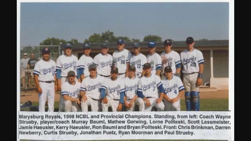 The Marysburg Royals baseball club are celebrating their 100th anniversary this summer.