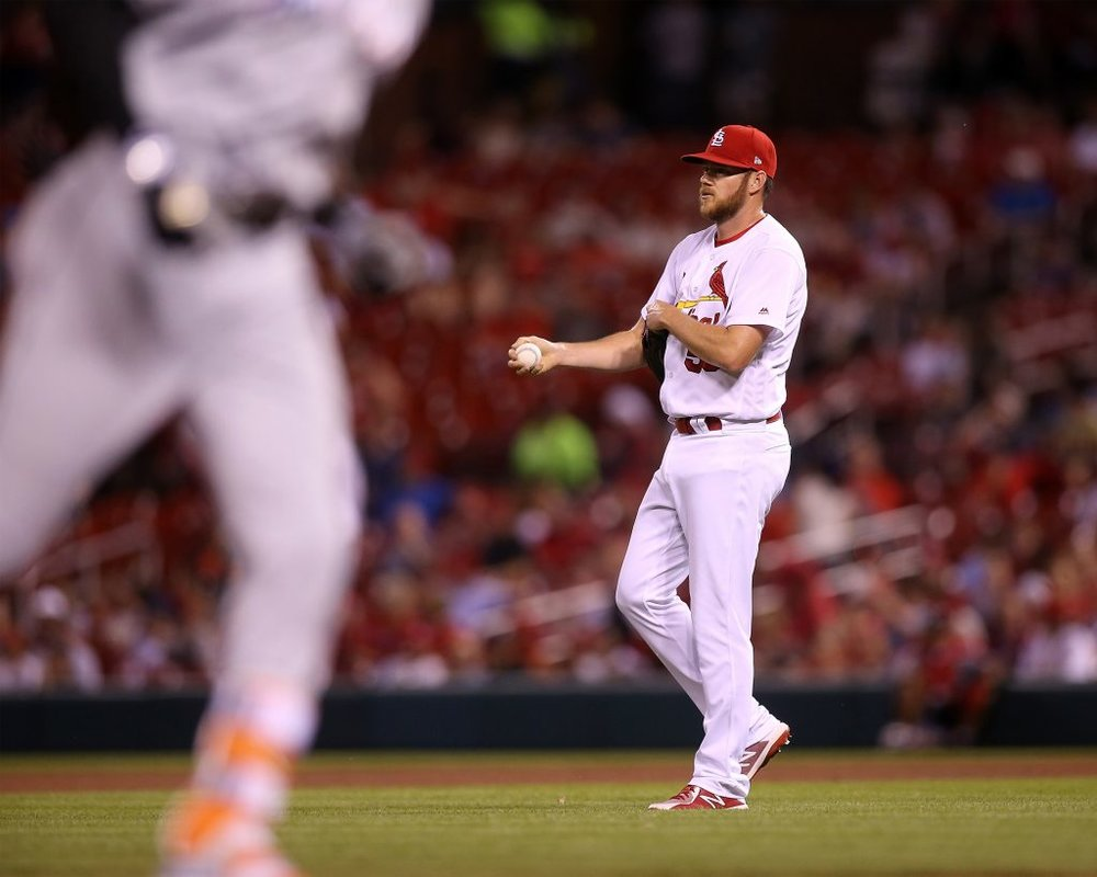 The Toronto Blue Jays have claimed right-hander Preston Guilmet off waivers from the St. Louis Cardinals.