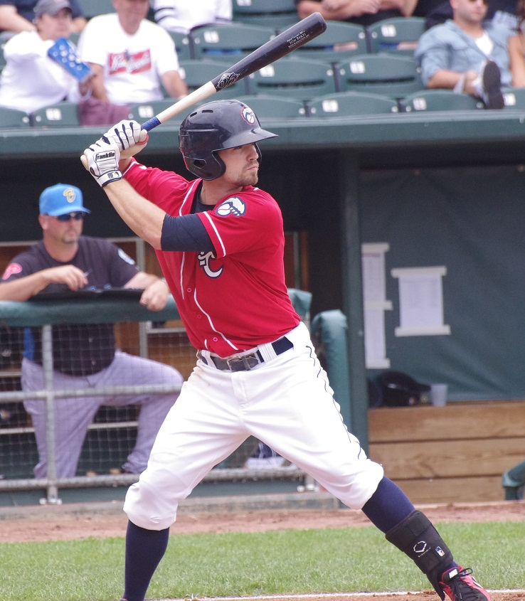 Jon Berti had two hits for the double-A New Hampshire Fisher Cats on Saturday. Photo Credit: Jay Blue