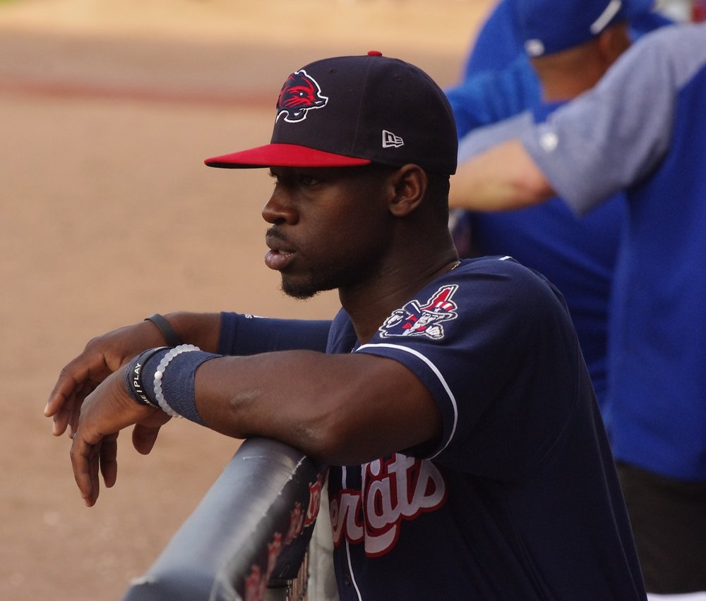 Jonathan Davis had four hits and a walk for the double-A New Hampshire Fisher Cats on Sunday. Photo Credit: Jay Blue