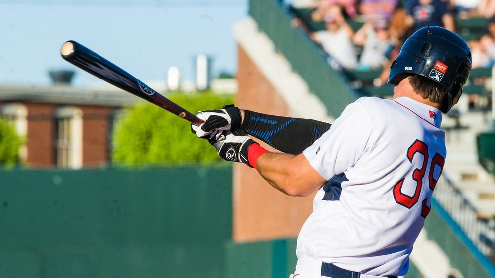 Kole Cottam, now with the class-A Lowell Spinners.