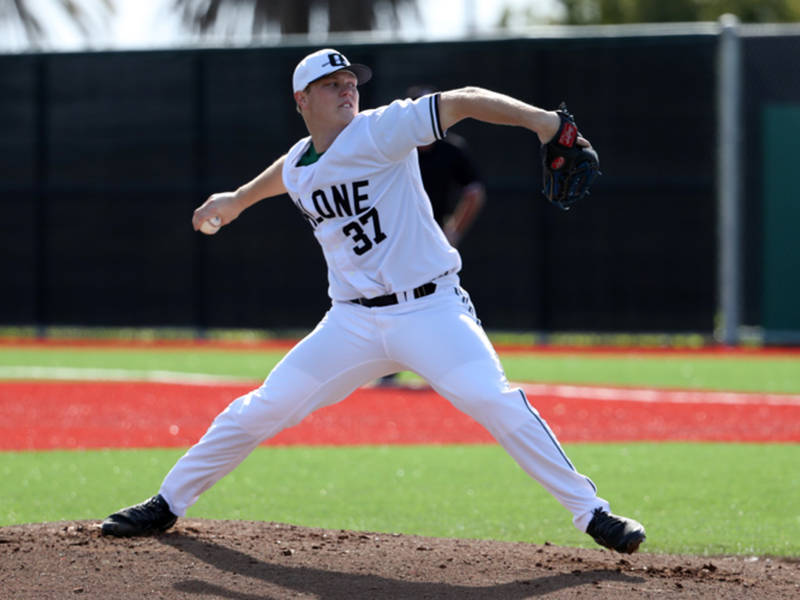Victoria Eagles grad RHP Ethan Skuija (Victoria, BC) led all Canuck pitchers in starts (17) and wins (13) for the Ohlone Renegades,