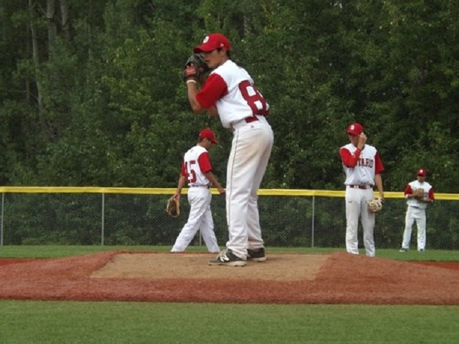 Windsor Selects grad RHP Aidan Massad (Leamington, Ont.) worked 40 innings with a 1.80 ERA for the Alderson-Broaddus Battlers.
