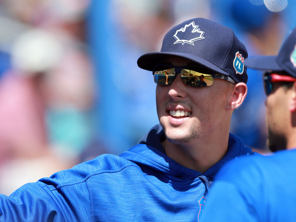 The Toronto Blue Jays have placed right-hander Aaron Sanchez on the 10-day disabled list with a right index finger contusion. Photo Credit: USA Today Sports