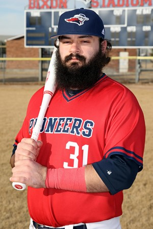 Saint-Eustache Bisons C JP Rousseau (Montreal, Que.) hit .379 for the MidAmerica Nazarene Pioneers.