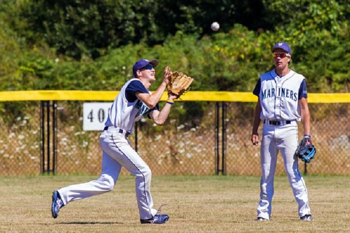 Victoria Mariners Tyler Schindel (Victoria, BC) hit .302 for the San Diego Christian Hawks.