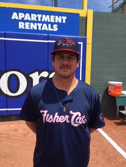 Prairie Baseball Academy Dawgs RP Andrew Case (Saint John, NB)has six saves for the first-place double-A New Hampshire Fisher Cats, walking 11 and striking out 28 in 30 1/3 innings.