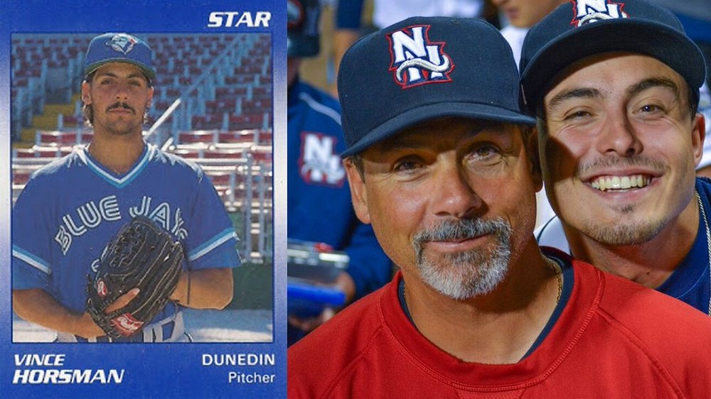 The sSilver Fox,New Hampshire pitching coach Vince Horsman (Halifax, NS), received birthday wishes in March.