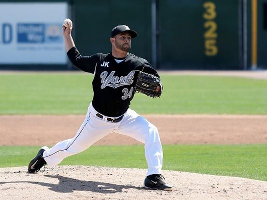 Right-hander Zac Grotz began the season with the independent Atlantic League's York Revolution but has since been signed to a minor league deal by the New York Mets. Photo Credit: York Revolution