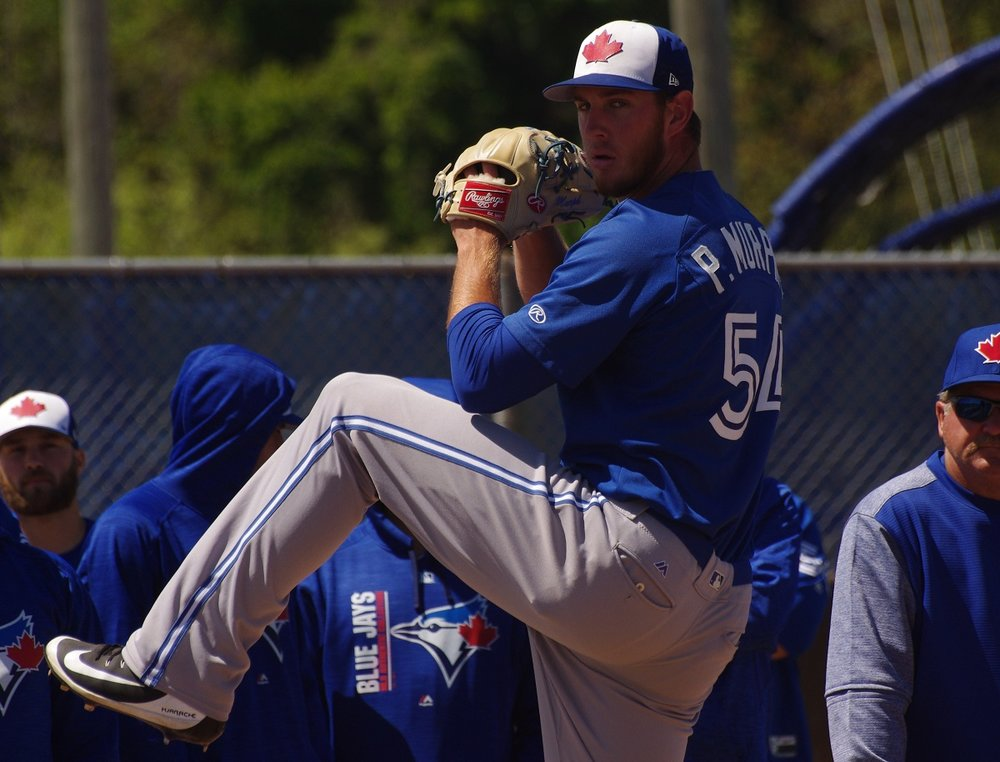 Right-hander Patrick Murphy tossed seven shutout innings for the class-A Advanced Dunedin Blue Jays on Sunday. Photo Credit: Jay Blue