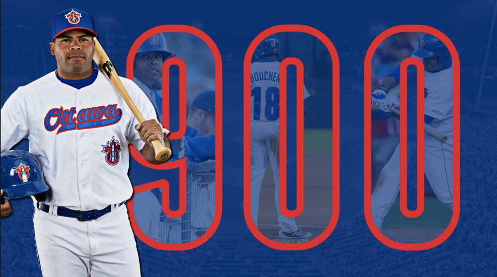 Sebastien Boucher (Gatineau, Que.) recorded his 900th career Can-Am league hit on Monday.