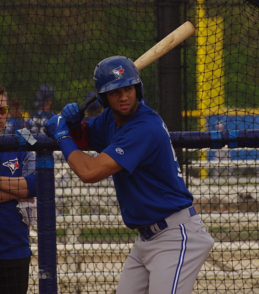 Lourdes Gurriel Jr. had a two-run home run in the eighth inning to give the Toronto Blue Jays an 8-6 win over the New York Mets on Tuesday. Photo Credit: Jay Blue