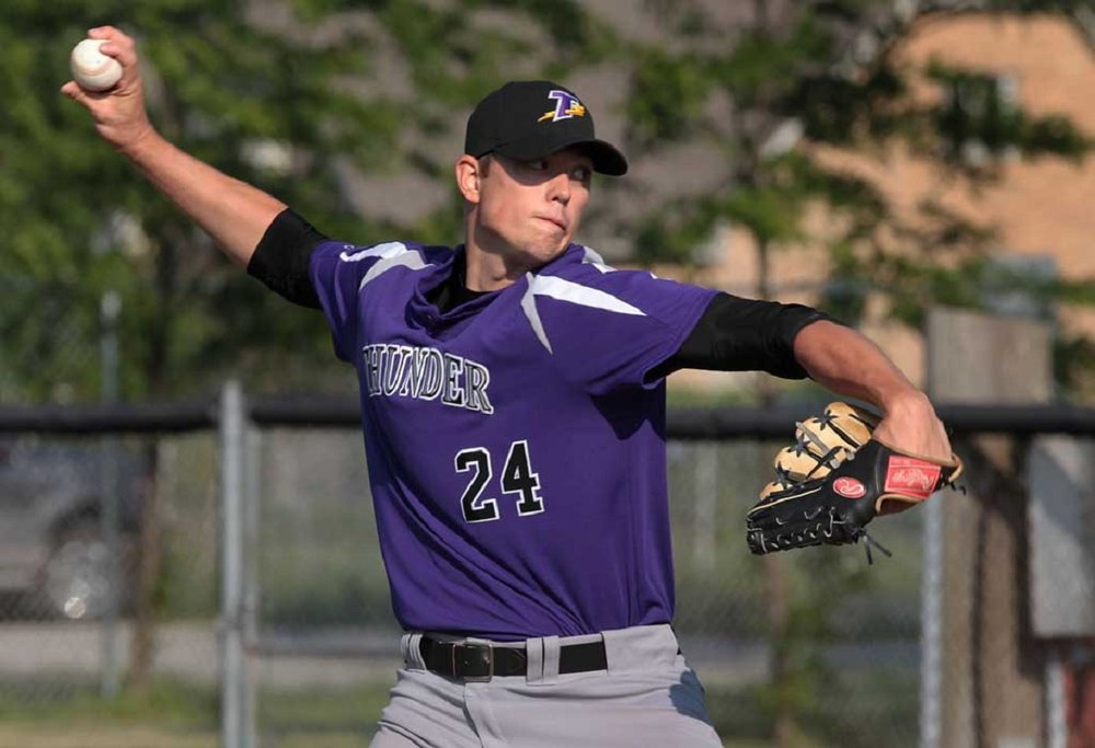 Tecumseh Thunder grad RHP Joel Pierce (Windsor Ont.) was a seventh round pick of the Milwaukee Brewers.