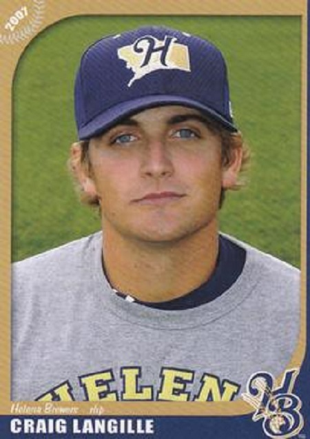 Dartmouth Juniors grad RHP Craig Langille (Bedford NS) was a seventh round pick of the Brewers.