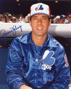 Photographic evidence that Ron Darling did, in fact, play for the Montreal Expos.