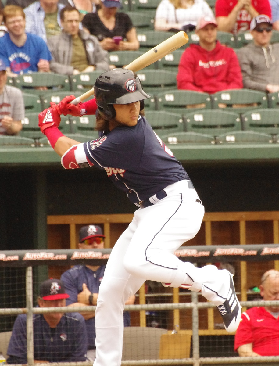 Bo Bichette was 4-for-5 for the double-A New Hampshire Fisher Cats on Friday. Photo Credit: Jay Blue