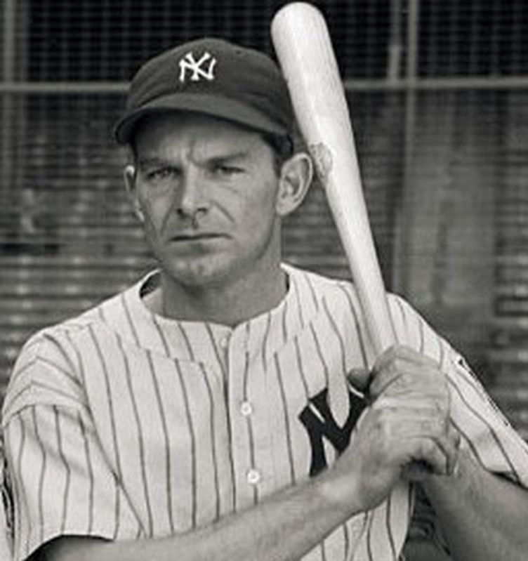 New York Yankees outfielder George Selkirk (Huntsville, Ont.) became the first Canadian ever selected to participate in a MLB All-Star Game in 1936. Photo Credit: Canadian Baseball Hall of Fame