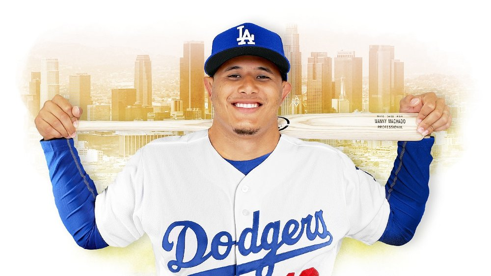 INF Manny Machado joins the Los Angeles Dodgers.