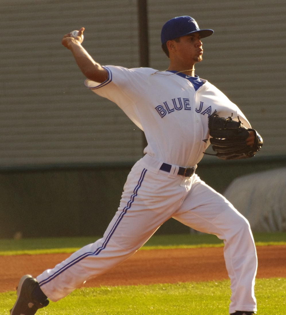 Jose Espada tossed six shutout innings for the class-A Short-Season Vancouver Canadians on Friday. Photo Credit: Jay Blue